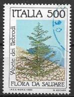 ITALia 1985 SALVAGUARDA DELLA NATURA SASS. 1722 USATO VF - 6. 1946-.. Repubblica