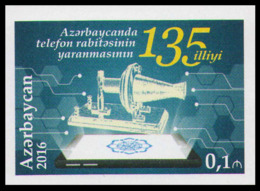 2016Azerbaijan 1181b135 Years Of Telephone Service (edition 210) - Aserbaidschan