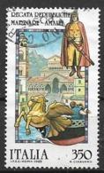 ITALia 1985 FOLCLORE ITALIANO SASS. 1714 USATO VF - 6. 1946-.. Repubblica