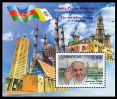 2016Azerbaijan 1182/B173Pope Francis Visits Azerbaijan - Päpste