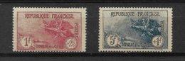 FRANCE  ORPHELINS  N° 231+232 * NEUFS AVEC CHARNIERE - Francia