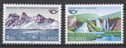 Iceland 1983 Mi# 596-97** NORDEN - Neufs