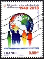 Oblitération Moderne Sur Timbre De France N° 5290 - Déclaration Universelle Des Droits De L'Homme - Usati