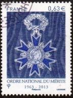 Oblitération Cachet à Date Sur Timbre De France N° 4830 - Ordre National Du Mérite - Used Stamps