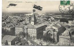 AVIGNON AVIATION 1911 CPA  2 SCANS - Fliegertreffen