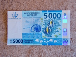 5000 Pacific Francs, Banknote Uncirculated - Banknotes