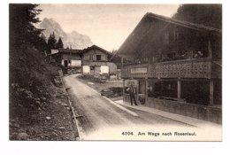 SUISSE - Am Wege Nach Rosenlaui - Animée  (Z24) - BE Berne