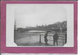 92.- PONT DE PUTEAUX - Inondation 1910 - Puteaux