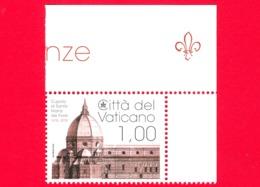 Nuovo - MNH - VATICANO - 2018 - 600 Anni Della Cupola Di S.Maria Del Fiore -  Basilica Di S.Maria A Firenze - 1.00 - Nuovi