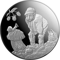 LATVIA Lettland , LETTONIA Euro Silbermünze 2019, Gifts Of The Forest, Latvian Silver Coin - Letonia
