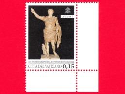 Nuovo - MNH - VATICANO - 2018 - Anno Europeo Del Patrimonio Culturale - Augusto Di Prima Porta  - 0.15 - Nuovi