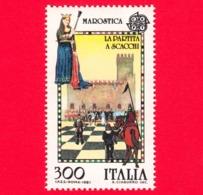 Nuovo - MNH - ITALIA - 1981 - Europa - 26ª Emissione - Partita A Scacchi Di Marostica - 300 L. - 1981-90:  Nuovi
