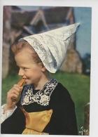 Fillette En Costume De La Montagne, Régions De Scrignac, Carhaix, Poullaouen (cp Vierge N°3155 Jos) - Sonstige Gemeinden