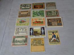 """Beau Lot De 14 Billets """" NOTGELD """"  Allemagne  Billet - [ 3] 1918-1933 : République De Weimar"""