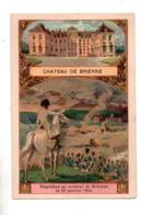 """10 - CHÂTEAU DE BRIENNE . """" NAPOLÉON AU COMBAT DE BRIENNE LE  JANVIER 1814 """" . CHROMO - Réf. N°23060 - - History"""