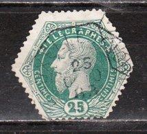 TG4 Ou TG4A  Leopold II - Bonne Valeur - Oblit. - LOOK!!!! - Telegraph