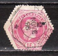 TG6 Ou TG6A  Leopold II - Bonne Valeur - Oblit. - LOOK!!!! - Telegraphenmarken
