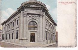 CUBA(SANTIAGO DE CUBA) BANK - Cuba