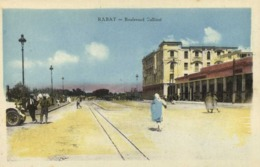 RABAT  Boulevard Gallieni  Colorisée RV Edit Janleot Rabat - Rabat