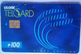 Globe Telecom 100 Pesos Chip Card, 1st Issue - Filippine
