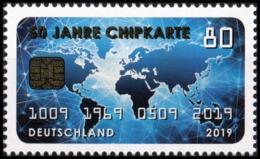 BRD MiNr. 3494 ** 50 Jahre Chipkarte, Postfrisch - Ungebraucht