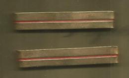 Insigne, Grade D'épaule, Metal, 2 Scans , LOT DE 2, Frais Fr 1.65 E - Army