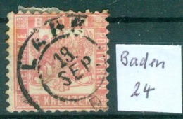 Baden  24    O / Used  (L874) - Baden