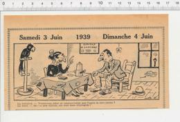 2 Scans Humour Communication Avec Les Esprits Voyance Voyante Tireuse De Cartes Sorcière Femme Téléphoniste épée 226MF - Vieux Papiers