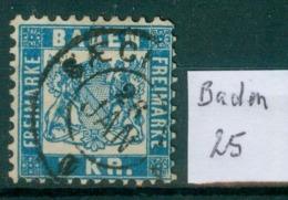 Baden  25    O / Used  (L877) - Baden