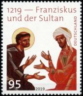 BRD MiNr. 3498 ** 1219 - Franziskus Und Der Sultan, Postfrisch - Ungebraucht