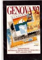 8488   -   GENOVA  18.9.1992       /      CELEBRAZIONI COLOMBIANE - Cristoforo Colombo