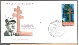 23518 - MEMORIAL DE GAULLE - Covers & Documents