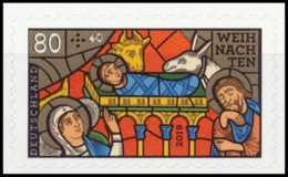 BRD MiNr. 3500 ** Weihnachten 19: Kirchenfenster, Postfr., Selbstkl., Unbedr. RS - Ungebraucht