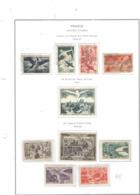 Francia PA 1949/50 Vedute Città Francesi   Scott. C.23 See Scan On Album Servizi; - Posta Aerea