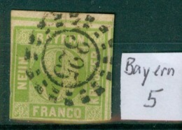 Bayern 5  Auf Papier     O / Used  (L892) - Bavière