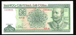 * Cuba 5 Pesos 2016 ! UNC ! - Cuba