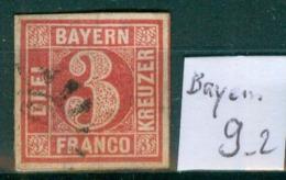 Bayern 9     O / Used  (L892) - Bayern