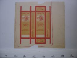 Ancienne Publicite Carton BOITE Fautee AD Pharmacie Kopfgeist DROGAL ZITTA - Reclame