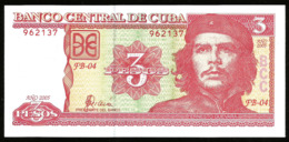 * Cuba 3 Pesos 2005 ! UNC ! - Cuba