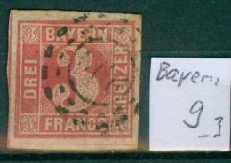 Bayern 9     O / Used  (L892) - Bavière