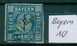 Bayern 10     O / Used  (L892) - Bayern