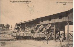 Les Mines De CHARBONNIER - L'Arrivée Du Chemin De Fer Aérien - Francia
