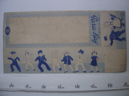 Ancienne Publicite Carton BOITE Fautee AD Becassine Guignol Jouet PARA KAY - Publicidad