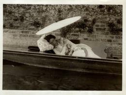 HENLEY REGATTA  OVERCOME BY THE HEAT 21*16 CM Fonds Victor FORBIN 1864-1947 - Photos