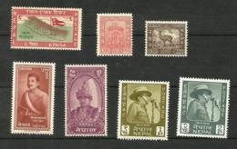 Népal N°93, 97, 99, 130, 147, 162, 163 Neufs** Cote 3.00 Euros - Nepal