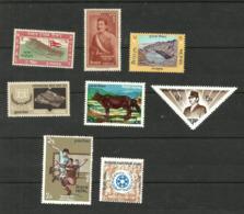 Népal N°93, 130, 219, 249, 265, 267, 273, 275 Neufs** Cote 3.35 Euros - Nepal