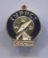 SCOUTING, SCOUTISME, BOY SCOUT - USSR RUSSIA, VINTAGE PIN BADGE, ABZEICHEN - Associazioni