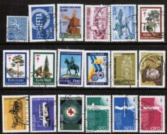 1967 Finland Complete Year Used With Circle Cancels. - Full Years