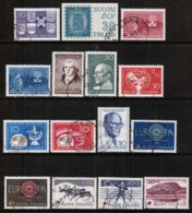 1960 Finland Complete Year Used With Circle Cancels. - Full Years
