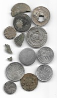 Lot De Monnaies Impériales Russes Et Soviétiques, Certaines En Argent - Rusia